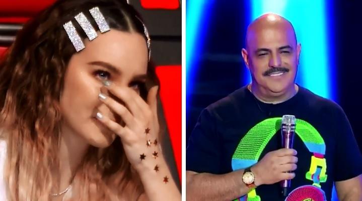Belinda llora al ver a Casasola en La Voz; le dan con todo en redes