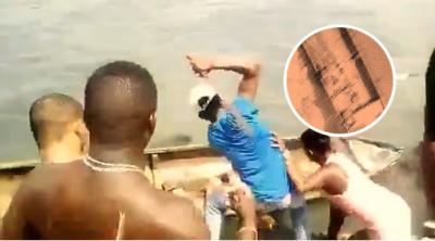 Exhiben video de sujetos macheteando a hombre hasta hacerlo pedazos