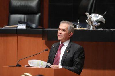 Mancera presenta iniciativa de compensación universal en favor de contribuyentes