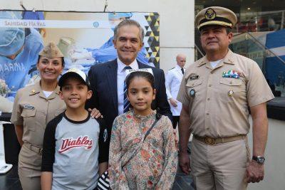 Mancera anuncia inauguración de Expo Naval en Senado de la República