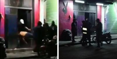 Circula video de hombres heridos tras feroz ataque a bar en Veracruz