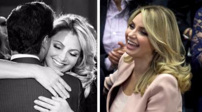 ¿Ya no extraña a Peña? Cachan a La Gaviota sonriente e <i>ilusionada</i> tras divorcio