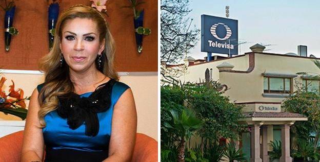 Rocío Sánchez Azuara se reúne con productores 'para hablar de televisión'