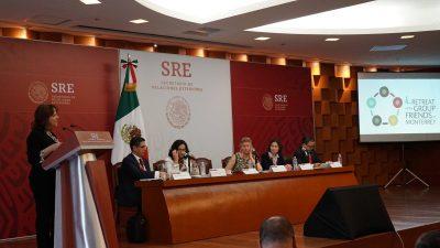 SRE celebra cuarto retiro Amigos de Monterrey en CDMX