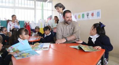 Escuelas de Tiempo Completo ayudan a estudiantes de comunidades necesitadas: Tello