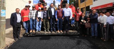 Alejandro Tello inicia programa de reencarpetamiento de vialidades urbanas