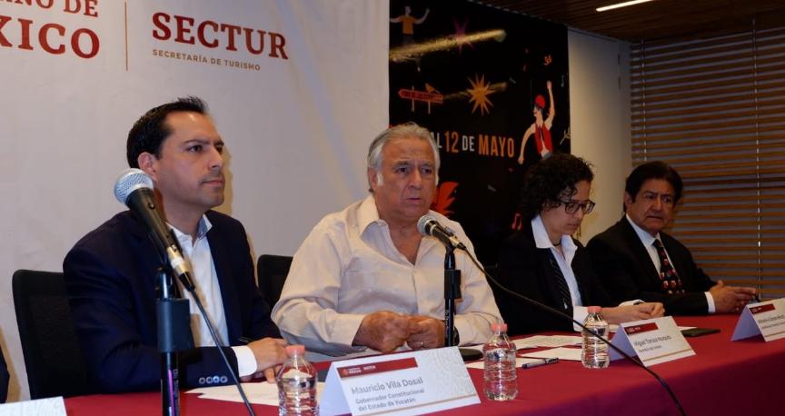 Mauricio Vila y Sectur presentan detalles sobre Tianguis Turístico 2020
