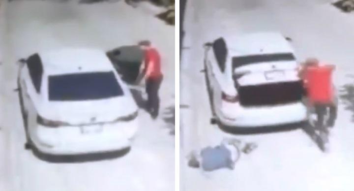Estremece video sobre liberación de víctima de secuestro en Guanajuato