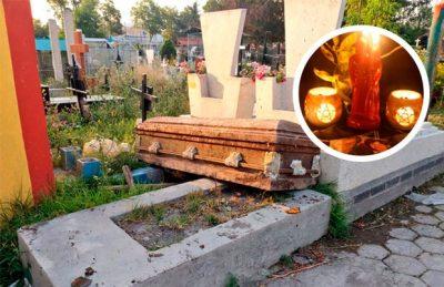Delincuentes y rituales de santería; denuncian irregularidades en panteón de CDMX