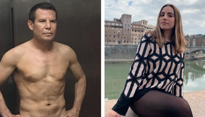 Un tiro: polémica propuesta de Chávez al novio de su hermosa hija Nicole