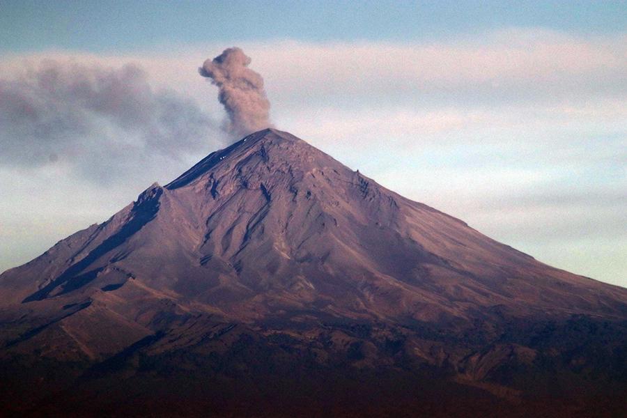 SSPC evalúa medidas preventivas con 26 municipios cercanos al Popocatépetl