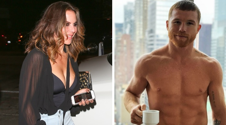 Kate del Castillo revela íntimo secreto de su romance con Canelo Álvarez