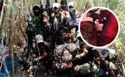 Impactan imágenes de sicario del CDN accionando arma en Tamaulipas (VIDEO)