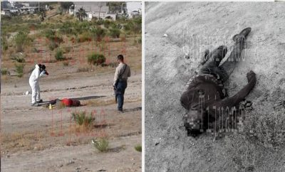 Difunden crudas imágenes de cuerpo cercenado en Tijuana