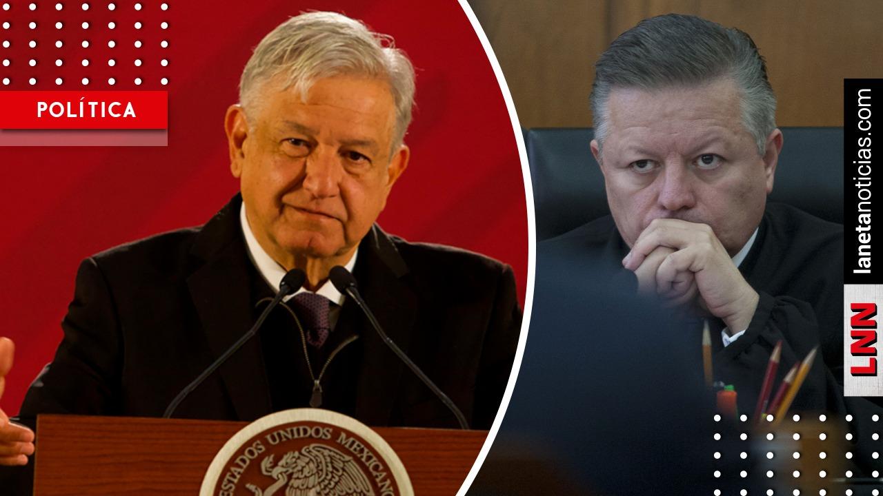 AMLO se reunirá con ministro Zaldívar en Palacio Nacional este jueves