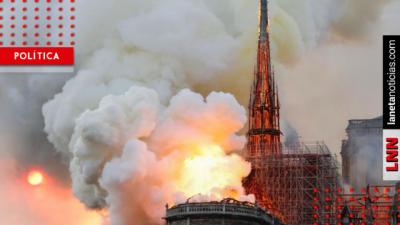 Una tragedia para el patrimonio universal: Monreal sobre incendio de Notre Dame