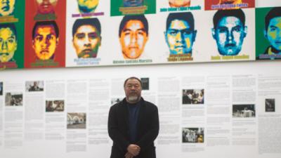 Ai Wei Wei, el artista que honró a los 43 de Ayotzinapa con un millón de Legos
