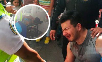 Exponen crudas imágenes de ataque a hombre al cual le mutilaron una mano