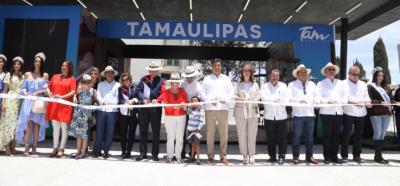 Francisco García inaugura pabellón de Tamaulipas en Feria de San Marcos