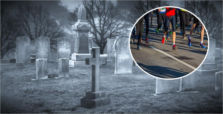 Acusan a deportistas de correr en cementerio; aseguran que perturban a los muertos