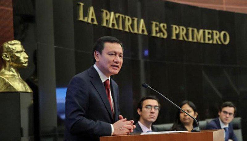 Osorio Chong pide comparecencia de SSPC por estrategia de seguridad