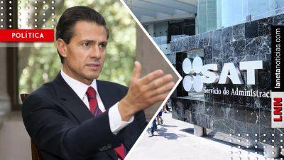 Empresas en lista negra del SAT recibieron carnosos contratos de Peña