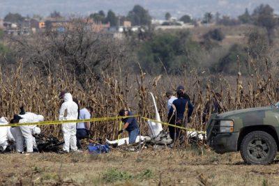 Investigaciones sobre avionazo en Puebla continúan: SCT