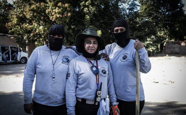 Sabuesos Guerreras, mujeres que hacen lo que la Policía no: hallar a sus hijos