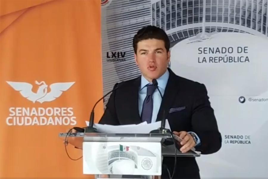 Samuel García frena dictamen que autorizaba cuentas bancarias a menores de edad