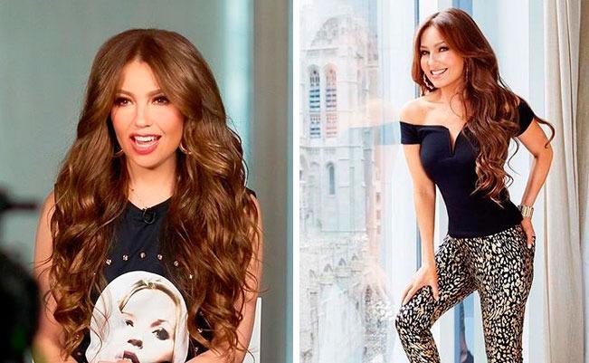 Thalía y el disfraz del que todos hablan (FOTO)