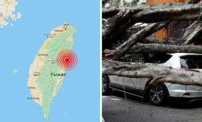 Circulan crudas e impactantes imágenes de megaterremoto en Taiwán
