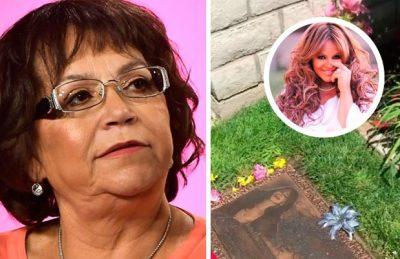 Madre de Jenni Rivera denuncia robo en la tumba de su hija
