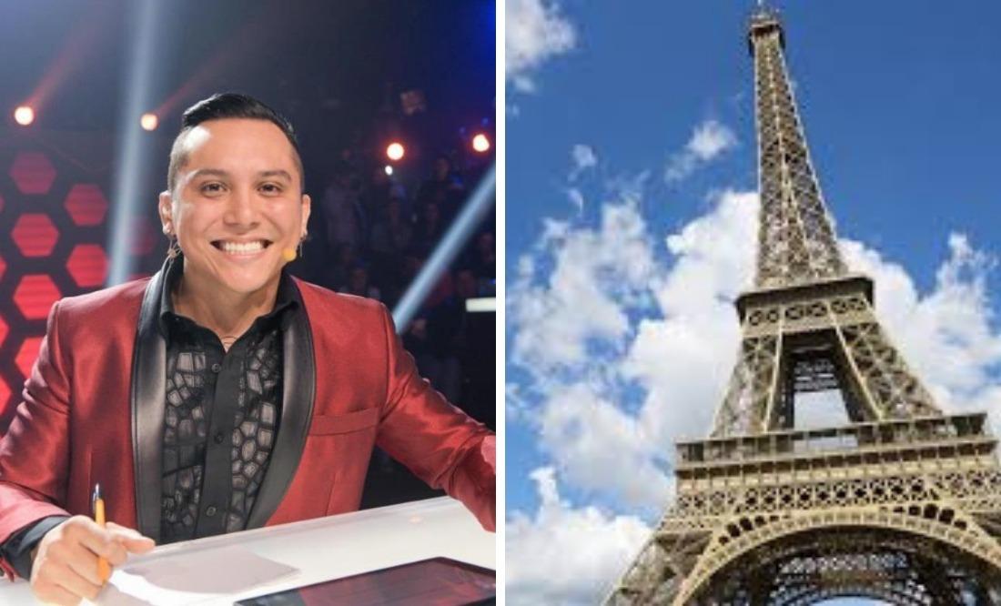 Edwin Luna desata polémica: disfruta de París, pero su hijo trabaja en la calle