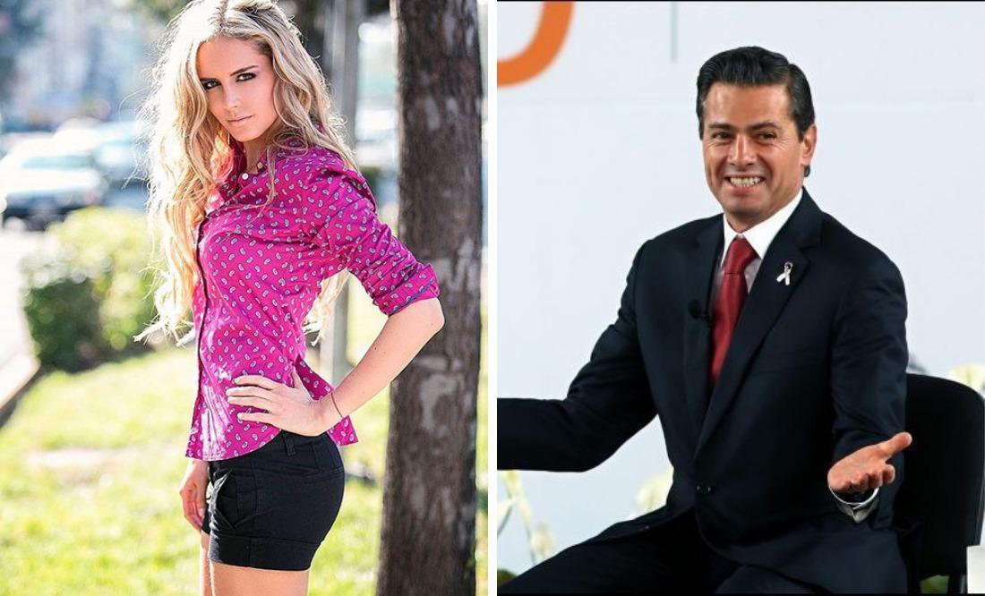 Tania Ruiz da like a Peña Nieto por foto al descubierto