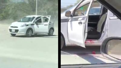 Difunden cruda filmación de taxista cruelmente ejecutado