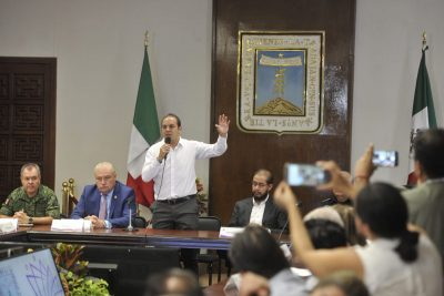 Cuauhtémoc Blanco presenta plan de seguridad para Morelos