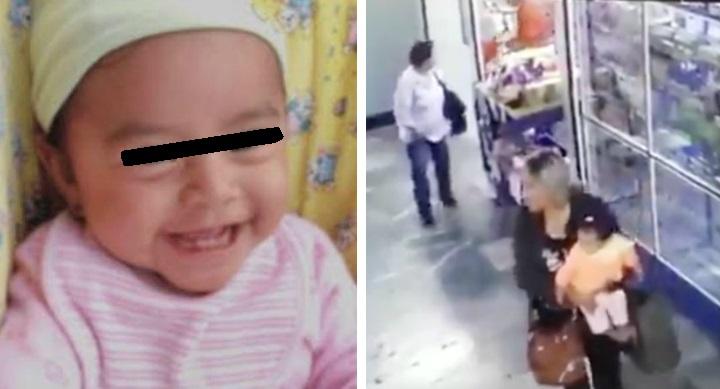 Así encontraron a Nancy, la bebé raptada en el Hospital General