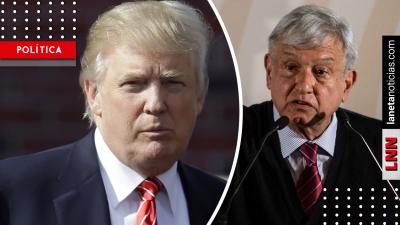 AMLO sobre Trump: 'no caeré en provocación ni me engancharé en debate'