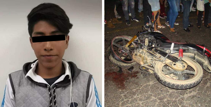 Joven atropellado por patrulla pierde la vida tras accidente