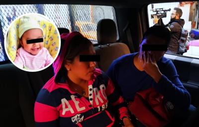 Difunden testimonio de pareja detenida al entregar a bebé robada en Hospital General