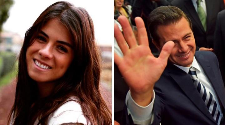 Elogian en redes belleza de la hija de Peña Nieto por foto en la playa