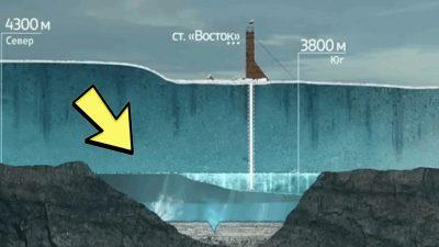 Lago Vostok: el misterio del planeta que pone de cabeza a los ...