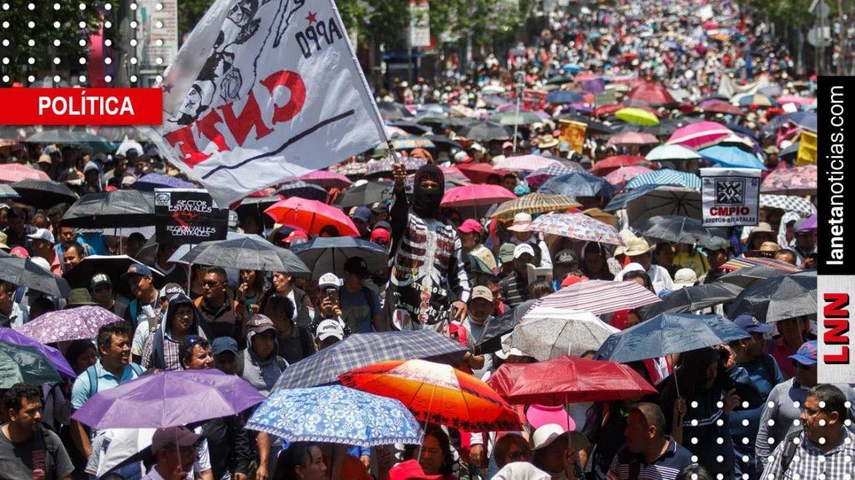 CNTE acepta diálogo con AMLO ¡pero sin el SNTE!