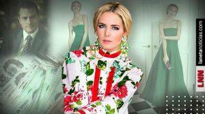 ¿Cuánto cuesta el vestido que Tania Ruiz usó para ir a boda con Peña Nieto?. Noticias en tiempo real