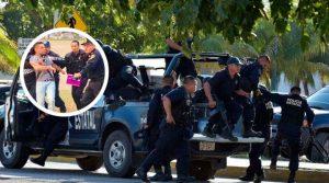 Sujetos agreden a policías para evitar aprehensión de criminal en CDMX. Noticias en tiempo real