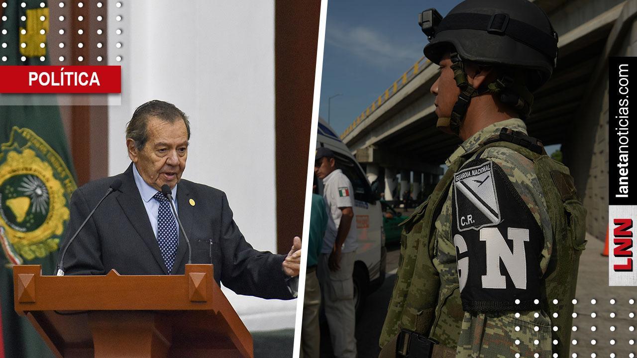 Muñoz Ledo explota por despliegue de Guardia Nacional: solo obedece a Trump. Noticias en tiempo real