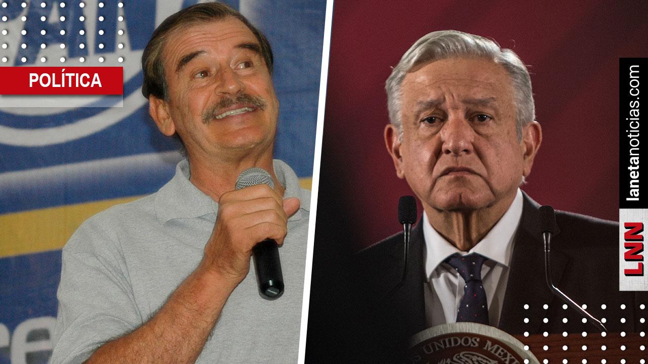 'Sálvese el que pueda', dice Fox de plan de AMLO; reitera que México se hunde. Noticias en tiempo real