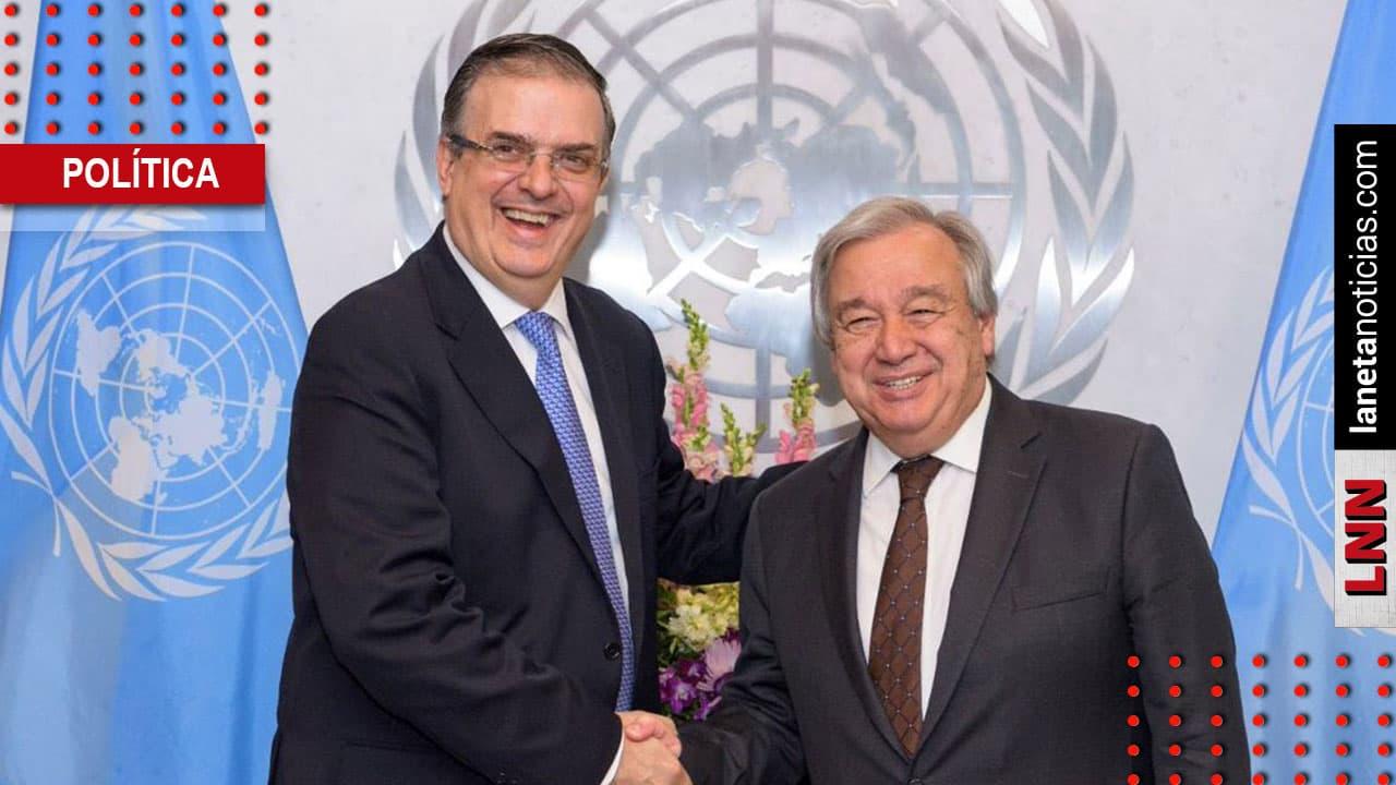 Ebrard celebra acuerdo con ONU: apoyará plan para Centroamérica con 14 agencias. Noticias en tiempo real
