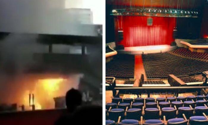 Reportan fuerte incendio dentro del Auditorio Nacional (VIDEO). Noticias en tiempo real