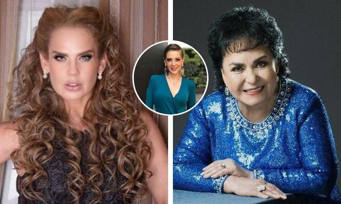 Carmen Salinas defiende a Edith González y exhibe a Niurka por Aventurera. Noticias en tiempo real